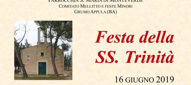 Festa della S.S. Trinità